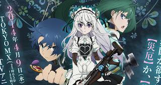 Hitsugi no Chaika: Avenging Battle - Todos os Episódios