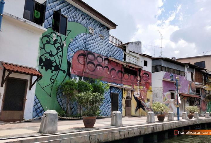 Gambar percutian Melaka - Menyusuri Sungai Melaka dengan Malacca River Cruise