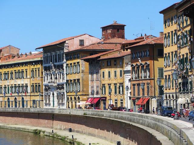 Centro histórico ou região central de Pisa