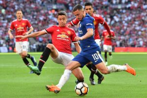 FA Cup final: Hazard nets winner as Manchester United lose to Chelsea