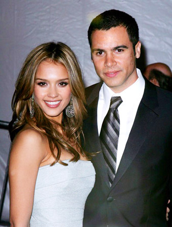Hollywood Stars: Jessica Alba With Her Husband Cash Warren ...