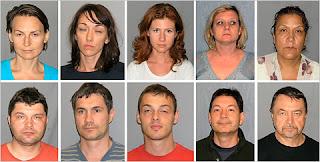 Los diez espías rusos detenidos en la Operación Historias de Fantasmas