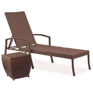 Luxe patio seating for less than 600 for Chaise lounge band