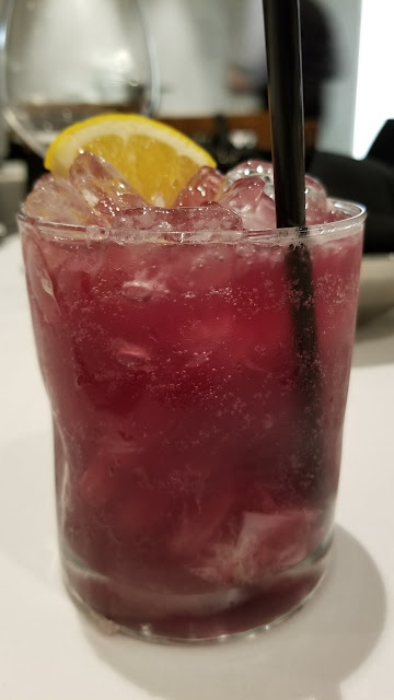 strawberry hibiscus caipirinha drink