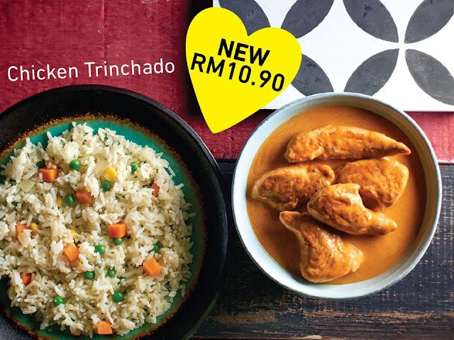 Food Review : Nando's Chicken Trinchado & ElderFlower Cooler