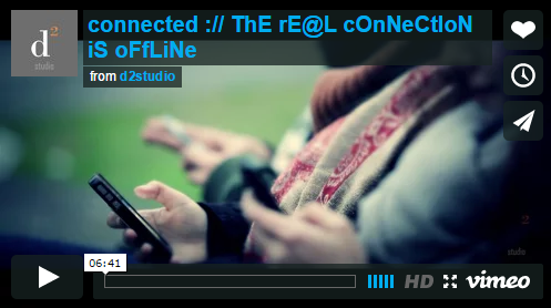 connected :// ThE rE@L cOnNeCtIoN iS oFfLiNe