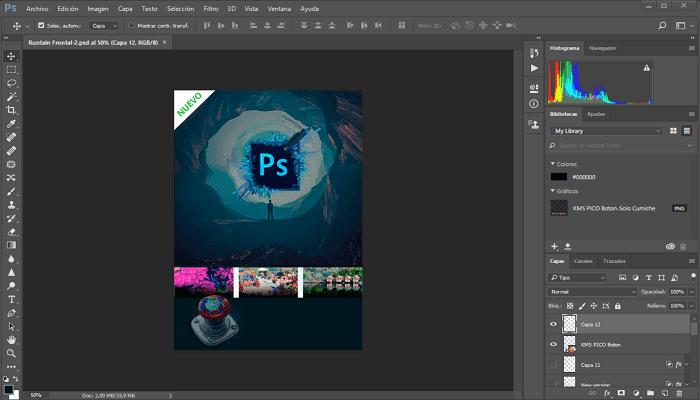 شرح تحميل الفوتوشوب الإصدار 2019 لنواتين 32 بت و 64 بت كامل Adobe Photoshop