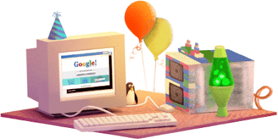 TODAY GOOGLE CELEBRATE ITS 17TH BIRTHDAY ~ Treeks
