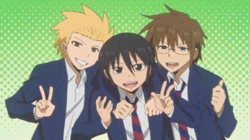 Judul Danshi Koukousei No Nichijou Episode 1 12 Sub Indo Tamat Gendre Comedy School Shounen Slice Of Life Rating 835 Tahun Release 2012