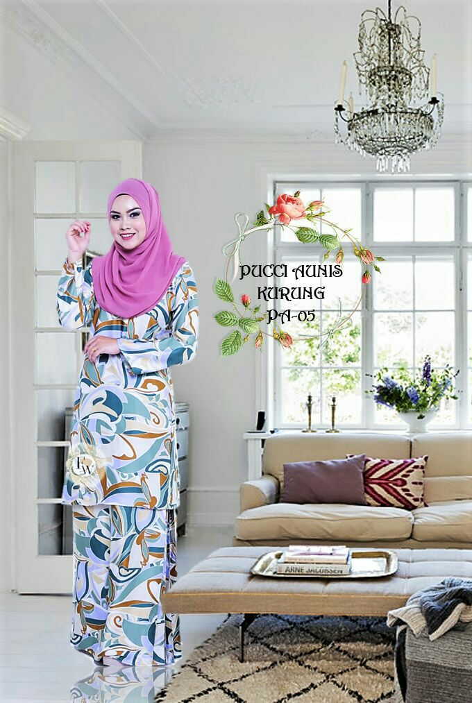 PUCCI AUNIS INSPIRED ROYAL SILK