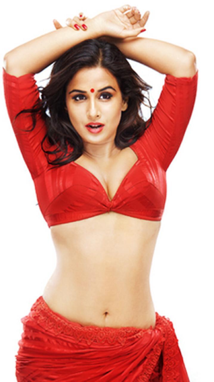 Vidya Balans Sexy Look In Blouse  Ritzystar  Celebrity -8075