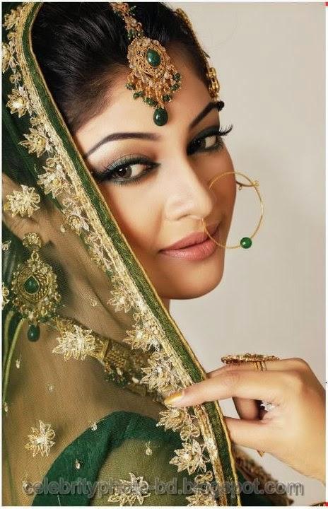 BD Actress Sarika's Bridal Look Unseen Hot Photos In Saree