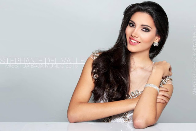 Stephanie Del Valle, Miss World 2016 Stephanie Del Valle