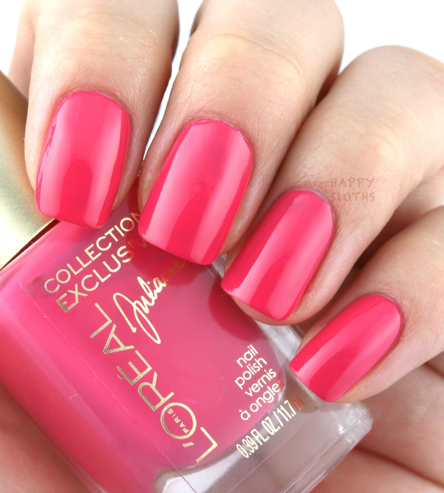 L\'Oreal Collection Exclusive Pinks Collection Nail Polish: Review ...