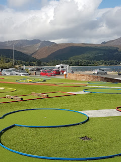 Crazy Golf at Brodick, Isle of Arran by Eamonn Murphy, September 2018