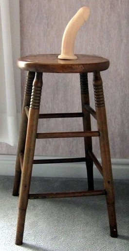 Punishment anal chair