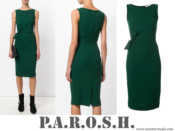 Meghan Markle wore P.A.R.O.S.H. bow detail dress
