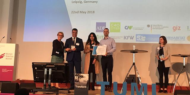 Le projet marocain des triporteurs électriques remporte le prix TUMI en Allemagne