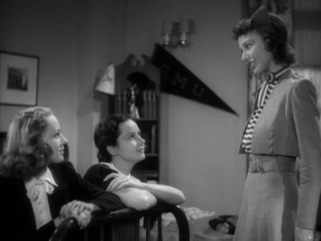 Anne Shirley, Barbara Read and Pamela Blake in Sorority House (1939)