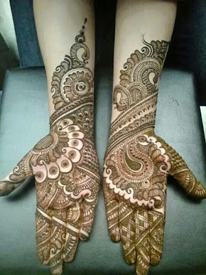Beautiful Rajasthani Mehndi Designs For Wedding