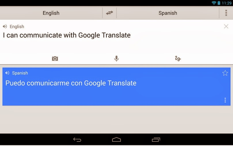 English To Italian Translator Google: Google Translate For Android Free Download App From