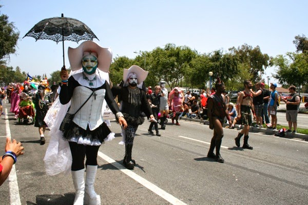 Sisters of Perpetual Indulgence West Hollywood Pride Parade 2014