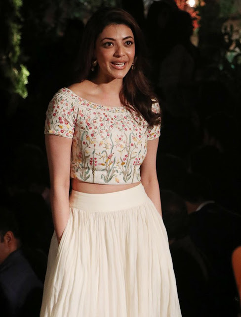 kajal agarwal at lakme fashion week 2017