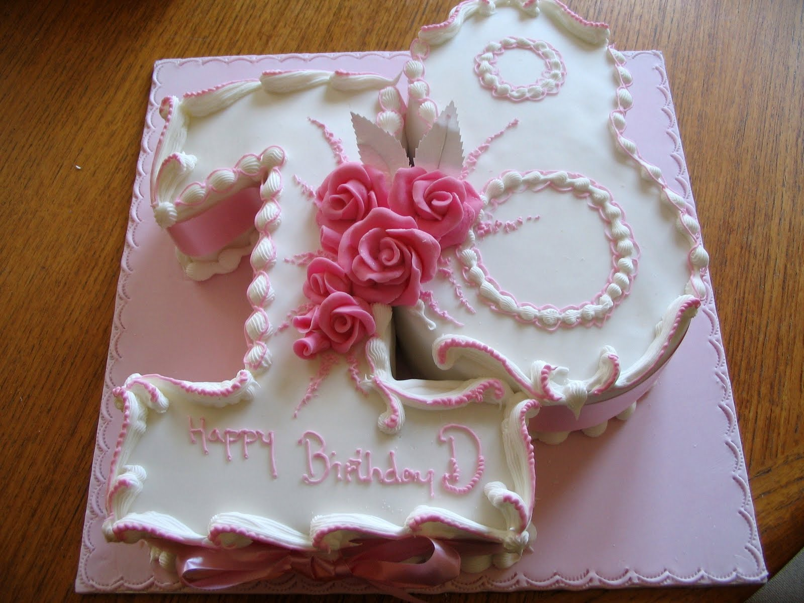Th Birthday Cake Ideas For Girls