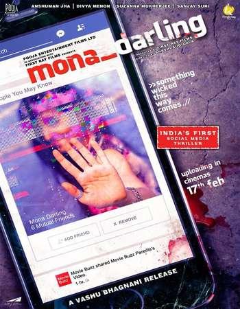 Mona Darling 2017 Hindi 300MB HDRip 480p ESubs