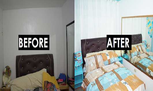 How I Redo My Bedroom