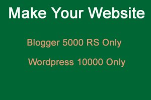 Make Your Webstite/Blog