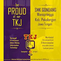 Poster TKJ Pekalongan - Be Proud of Our TKJ