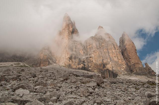Montañas Dolomitas Tres Cimas viaje Italia