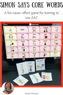AAC game of Simon Says