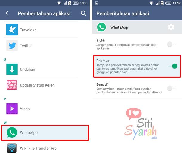whatsapp tidak ada suara notifikasi