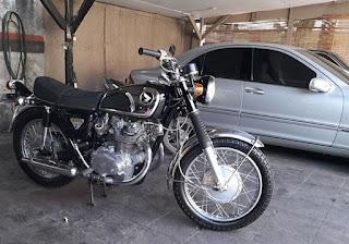 MOGE KLASIK Honda CB450 K1 Tahun 1968 - JAKARTA