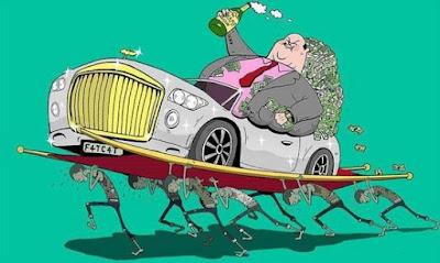 Yang kaya makin kaya, yang miskin makin miskin