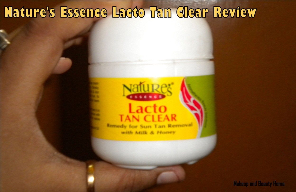 Nature's Essence Lacto Tan Clear Review - So Loverly News
