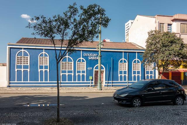 fachada de cas na Rua Barão do Rio Branco