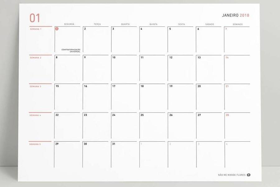 Comece 2018 Planejando seu Planner