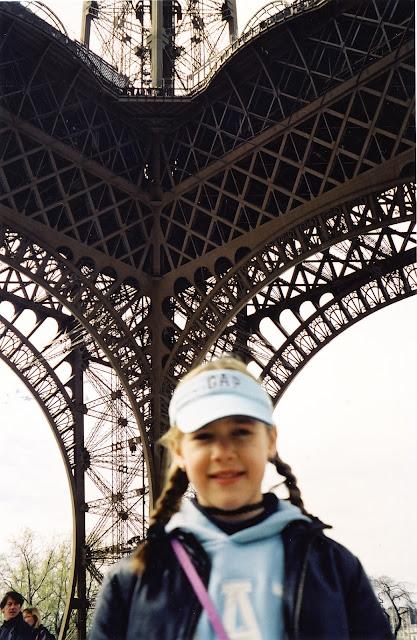 Maxime och Eiffeltornet
