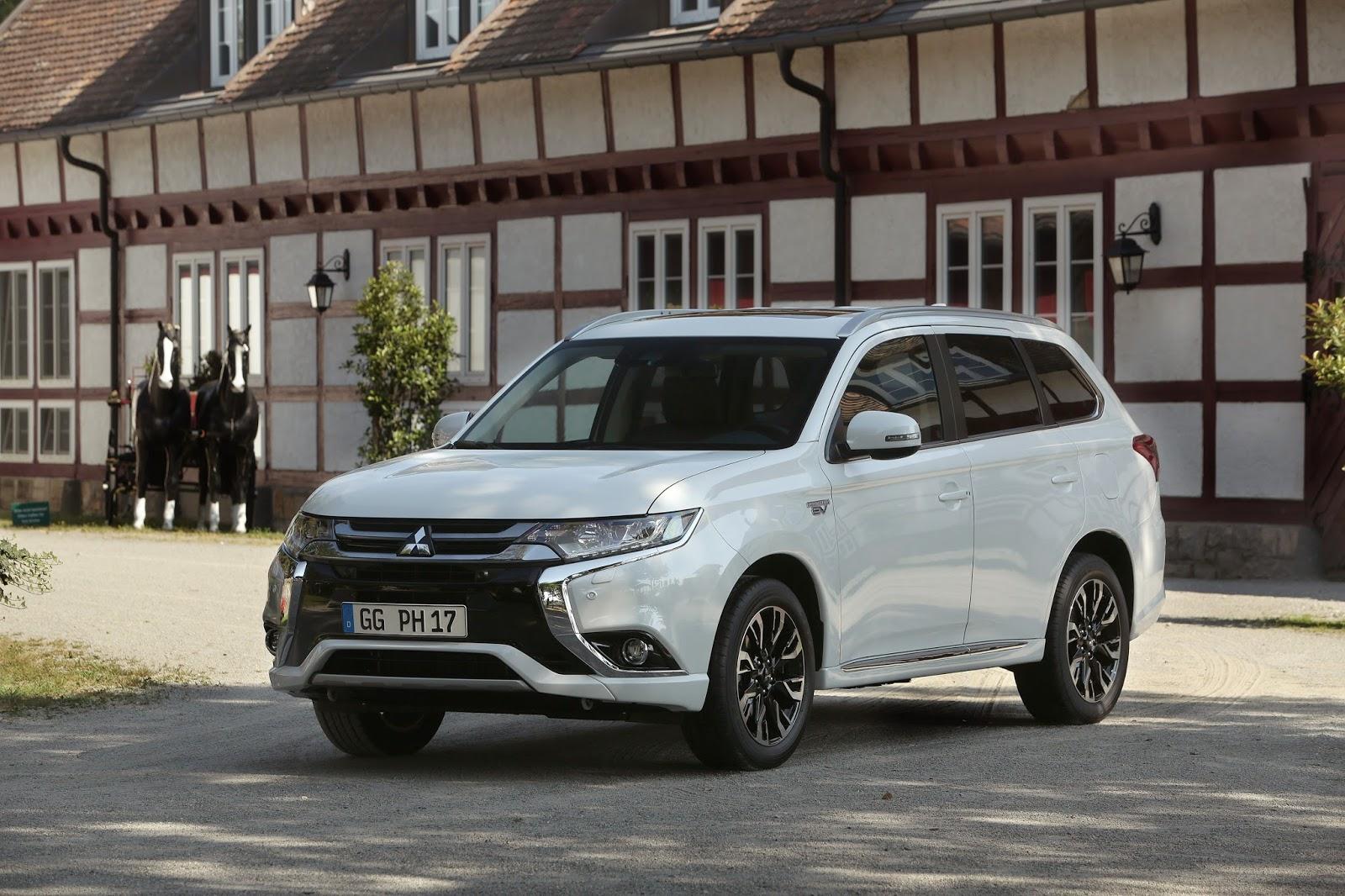 Πωλήσεις 100.000 Mitsubishi Outlander Phev στην Ευρώπη