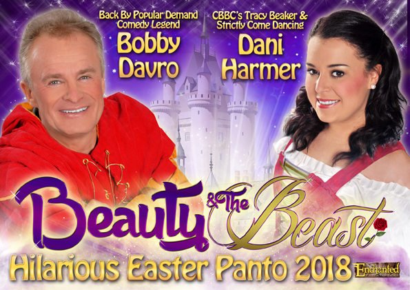 Our First Easter Panto | Beauty and the Beast at Tyne Theatre & Opera House