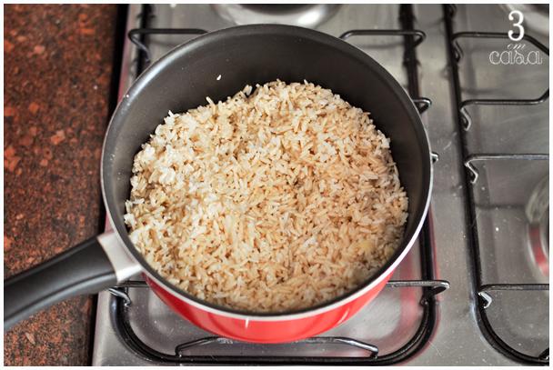 passo a passo arroz integral