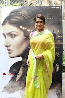 Bollywood Actress Raveena Tandon in Transparent Green Saree at Trailer Launch Of Film Maatr  0010.JPG