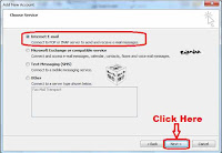 how to setup gmail for outlook 2010
