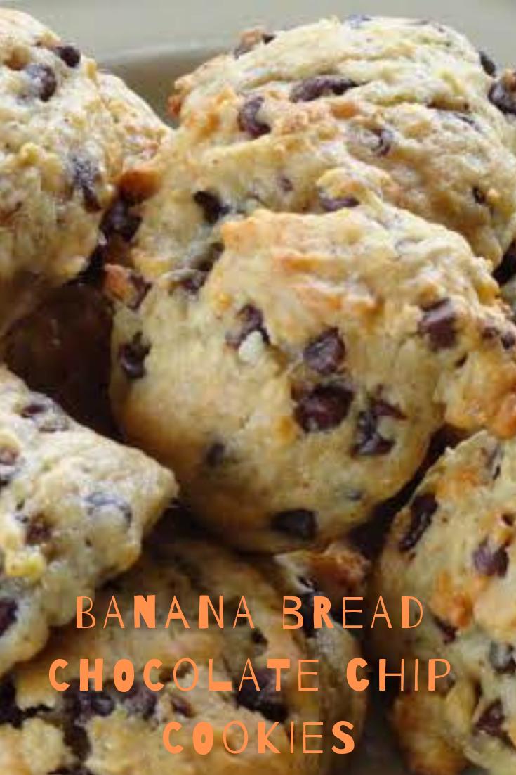 Banana Bread Chocolate Chip Cookies Recipe