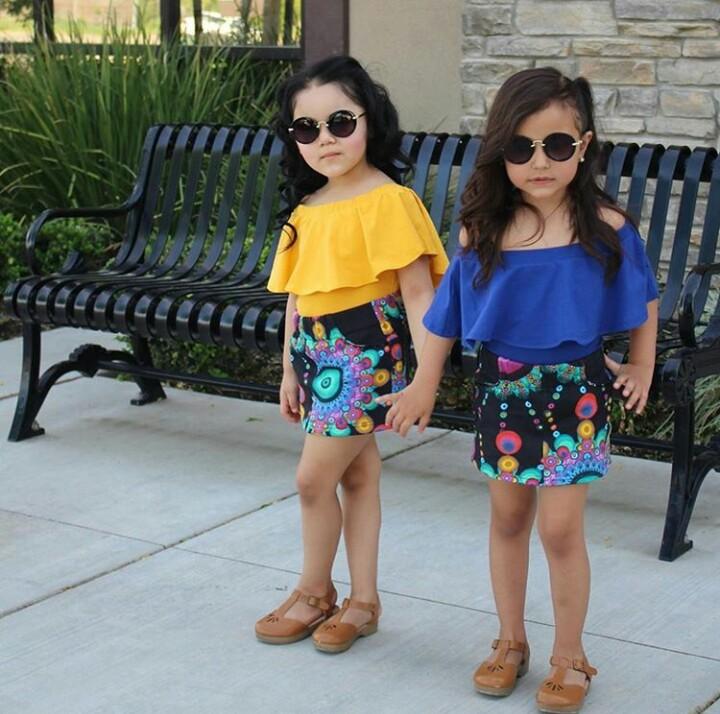 a943740ed صور ملابس أطفال بنات للعيد 2019