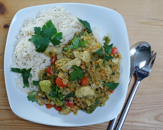 Veganes Linsencurry