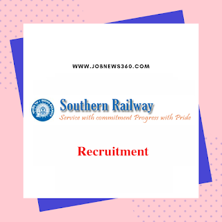 Southern Railway Recruitment 2020 for Nursing Superintendent, Physiotherapist, Dietician, Haemodialysis Technician, Skilled Electronic Technician, Hospital Attendant, Lab Assistant & Radiographer